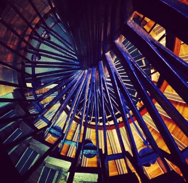 spiral staircase - le Grand Palais