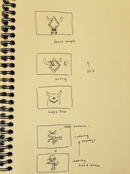 story-board: page 5